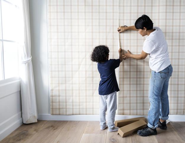 install wallpaper