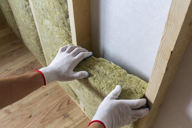 insulating rock wool